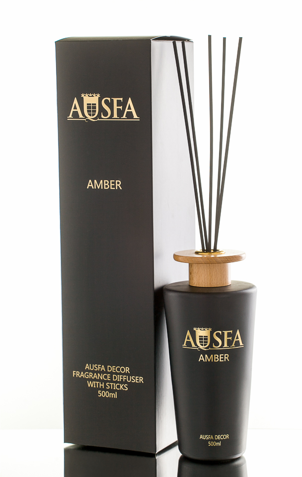 AUSFA DECOR namų kvapas AMBER, 500 ml