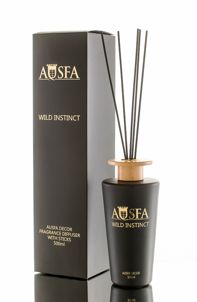 AUSFA DECOR namų kvapas WILD INSTINCT, 500 ml